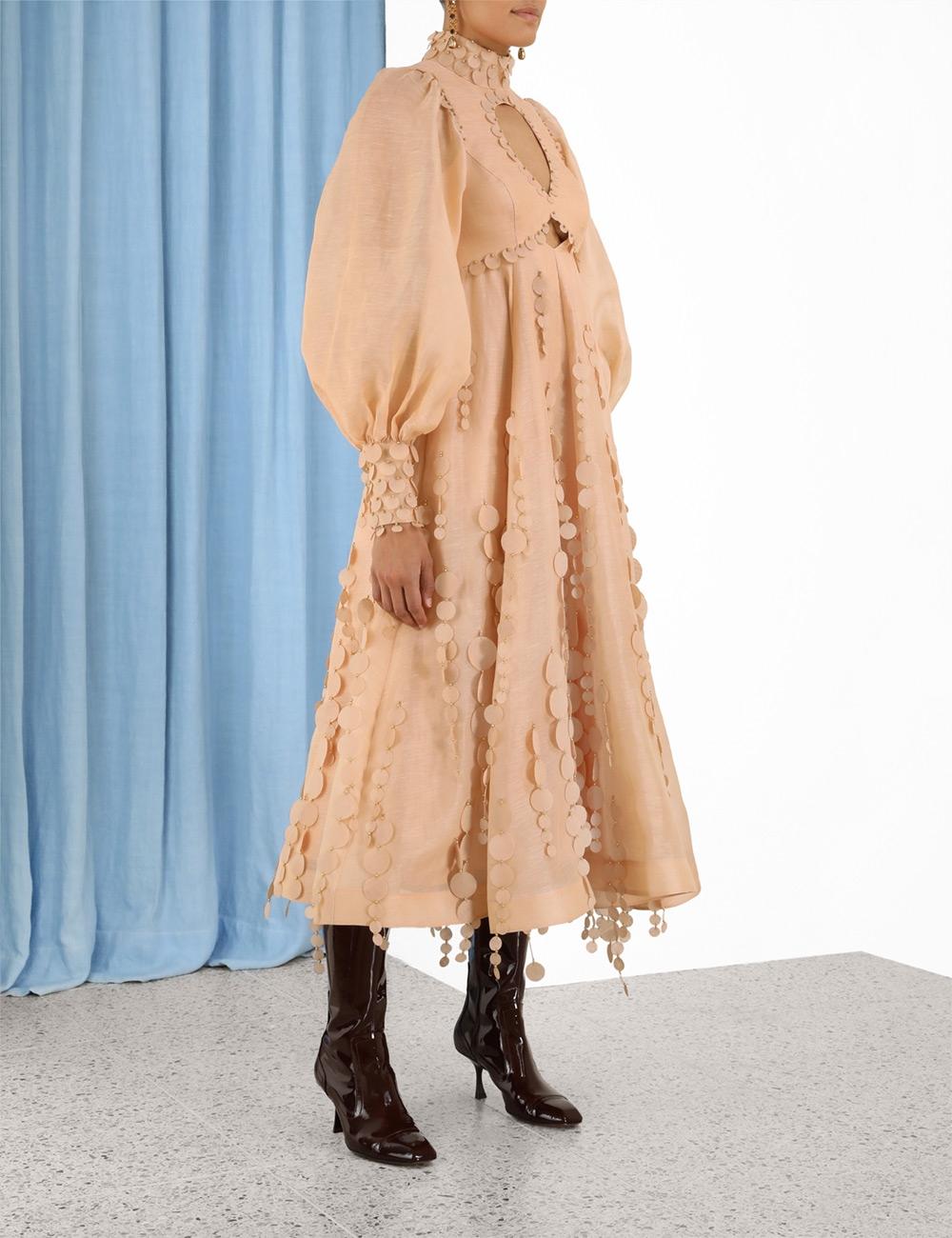Tempo Disc Midi Dress
