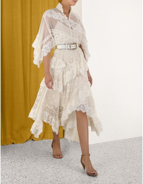 Tempo Layered Midi Dress
