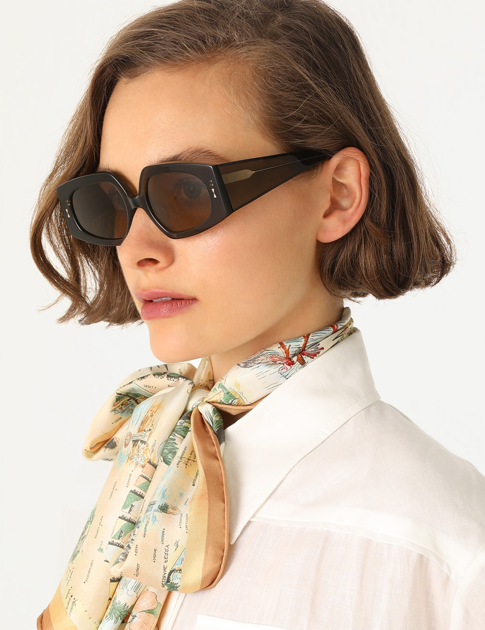 Espionage Squared Sunglasses