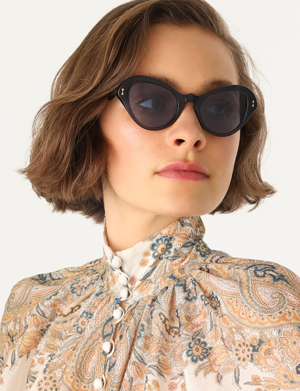 Flutter Oval Sunglasses