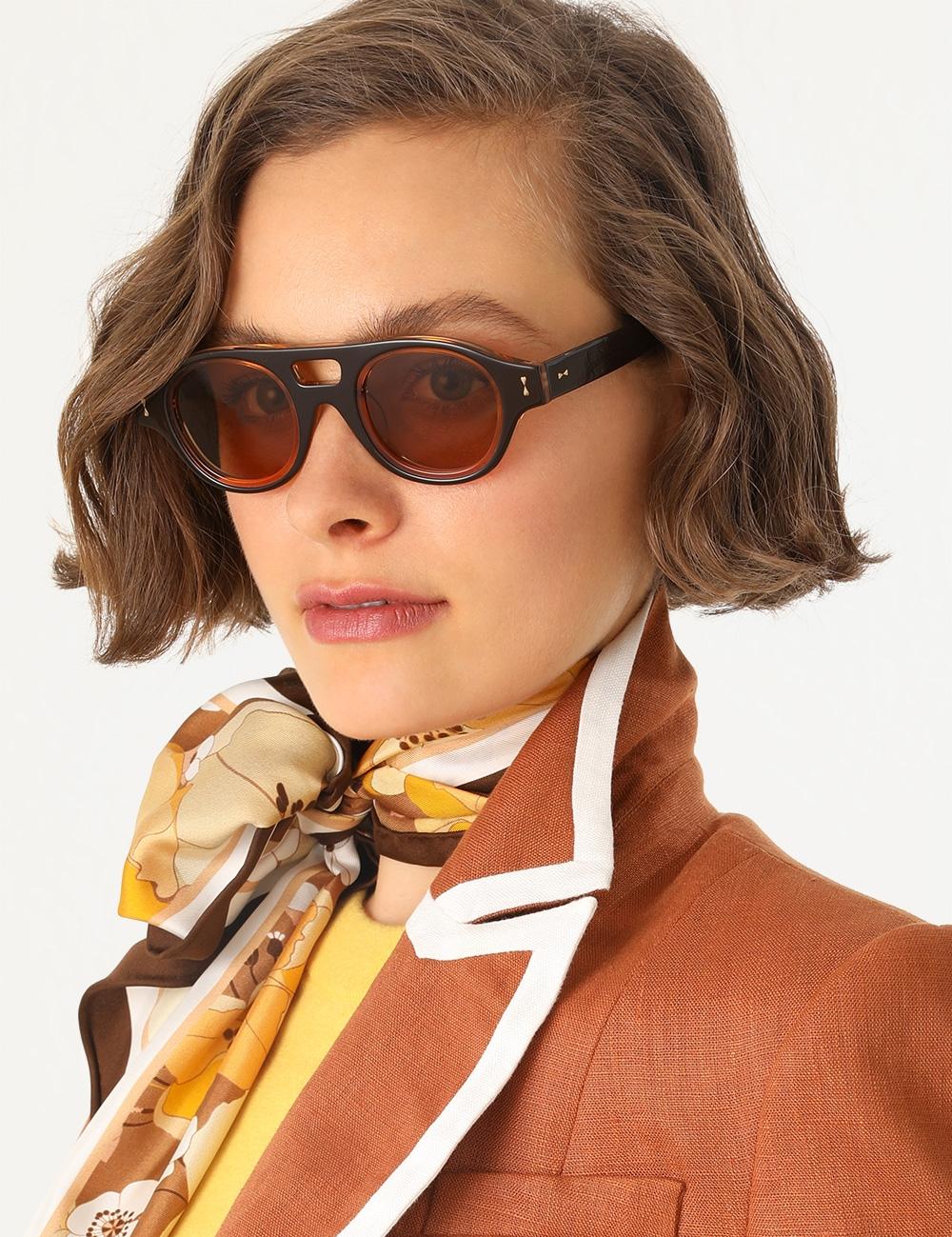 Sabotage Rounded Sunglasses