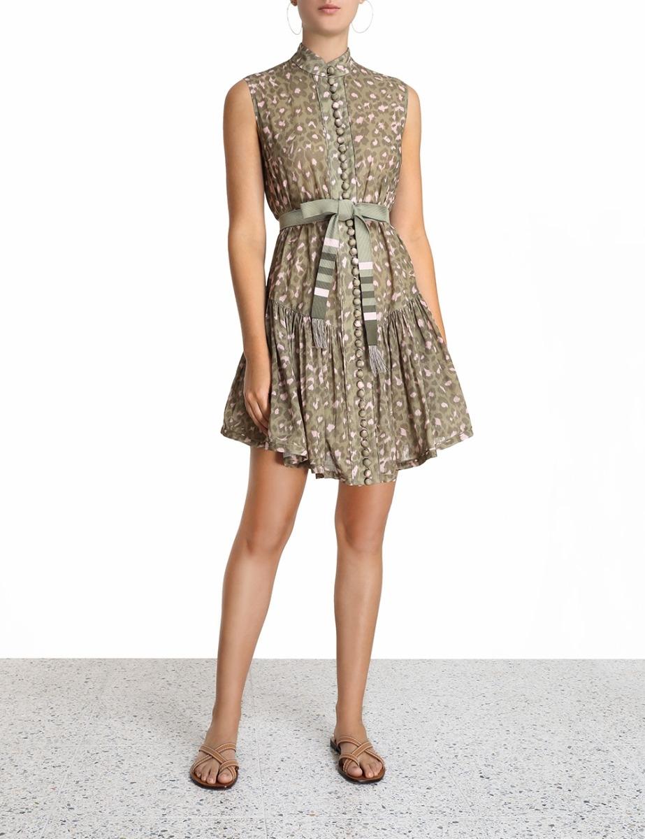 Carnaby Waist Short Dress