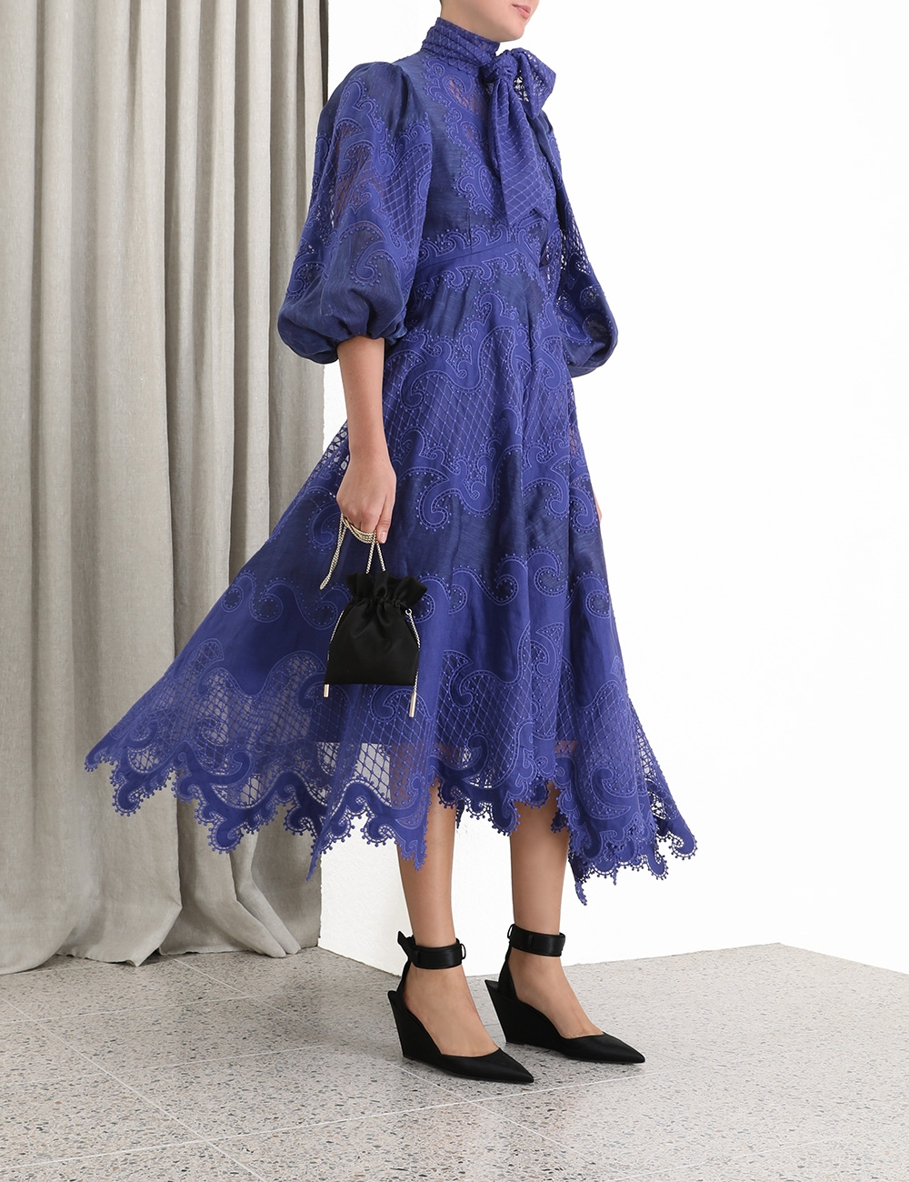 Brightside Embroidered Gown