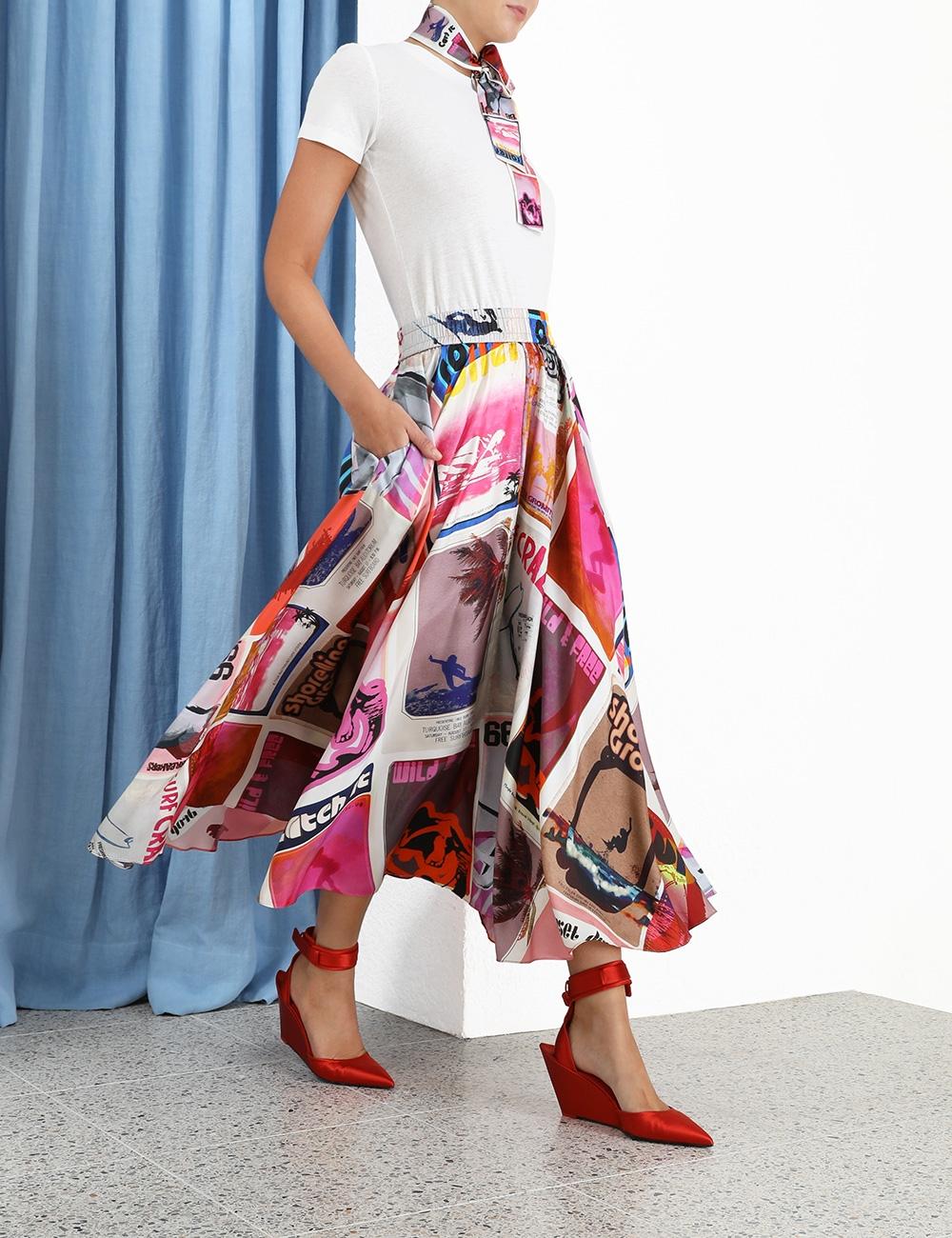 Wavelength Swing Skirt