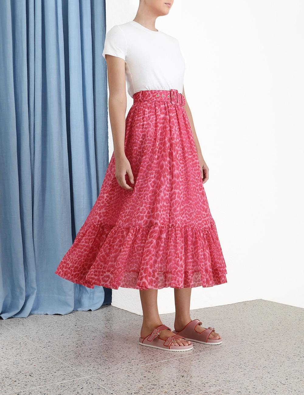 Wavelength Flared Skirt