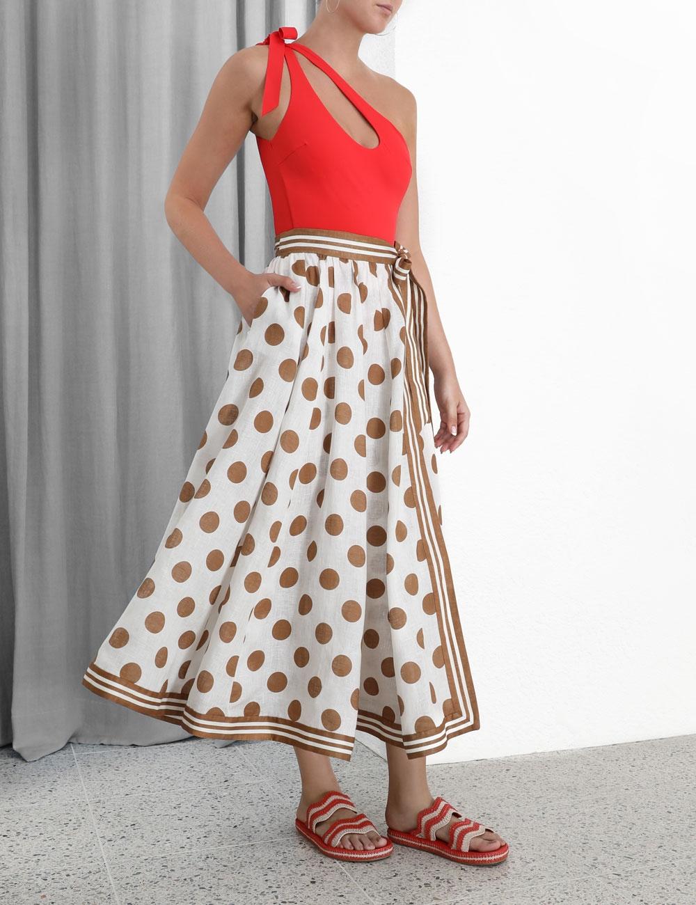 Empire Wrap Skirt