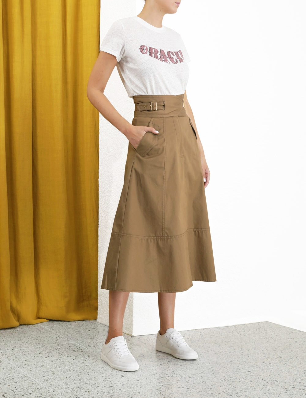 Ladybeetle Buckle Skirt