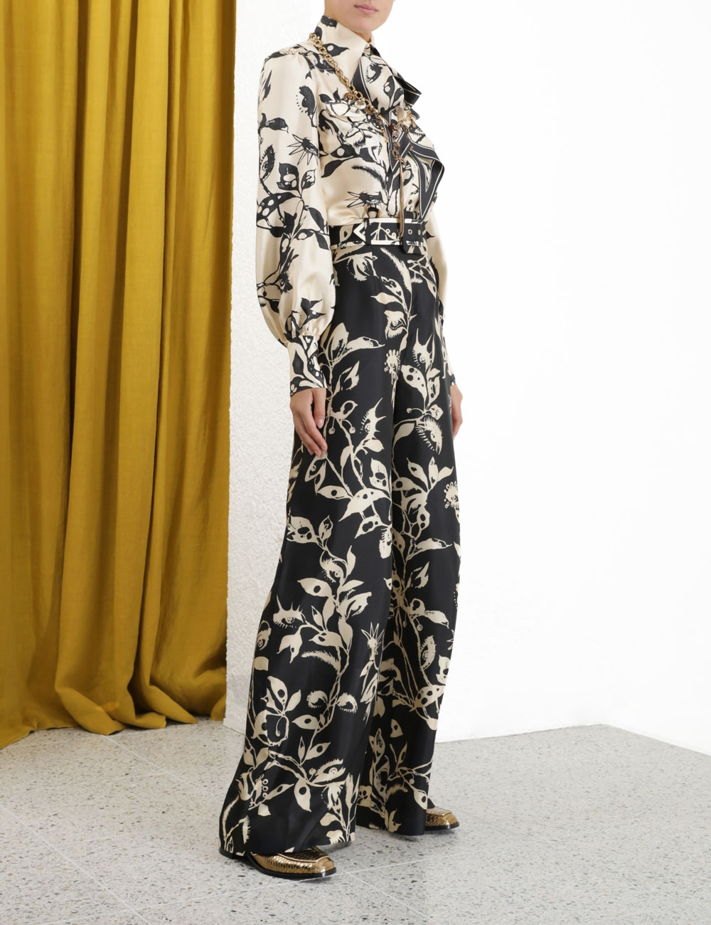 Ladybeetle Belted Pant