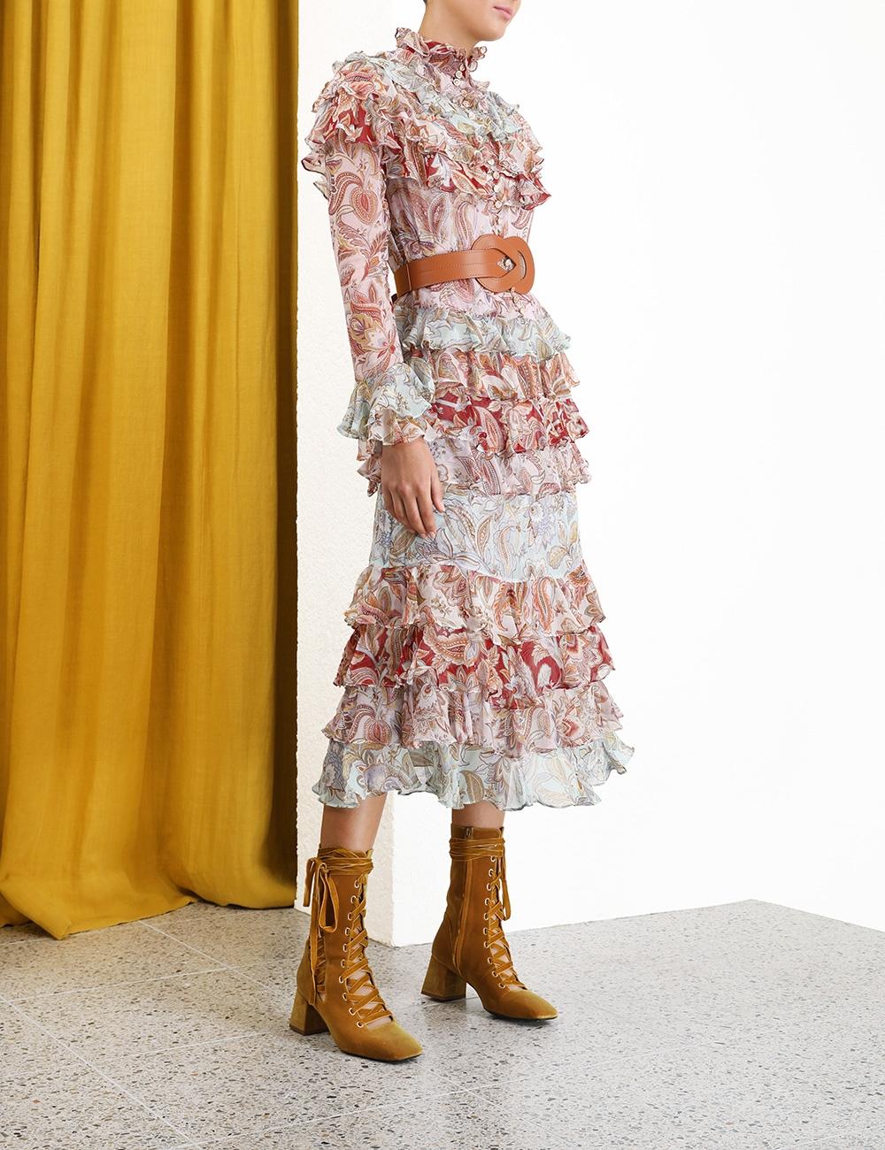 Ladybeetle Tiered Dress