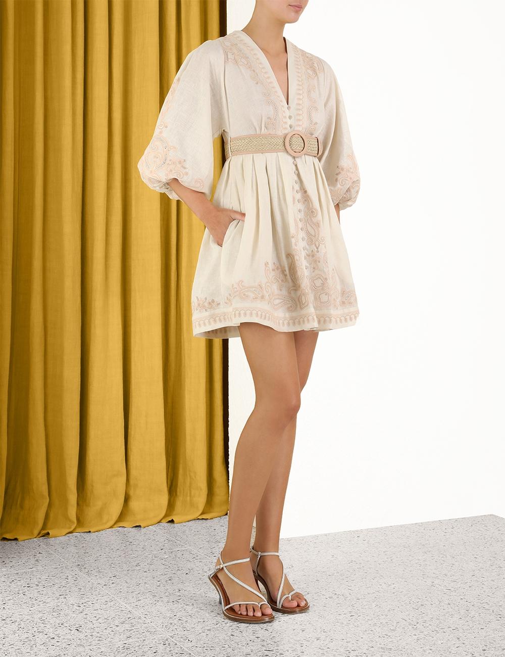Estelle Paisley Short Dress