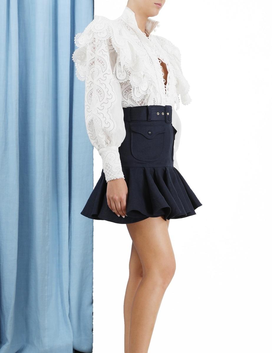 Glassy Safari Skirt