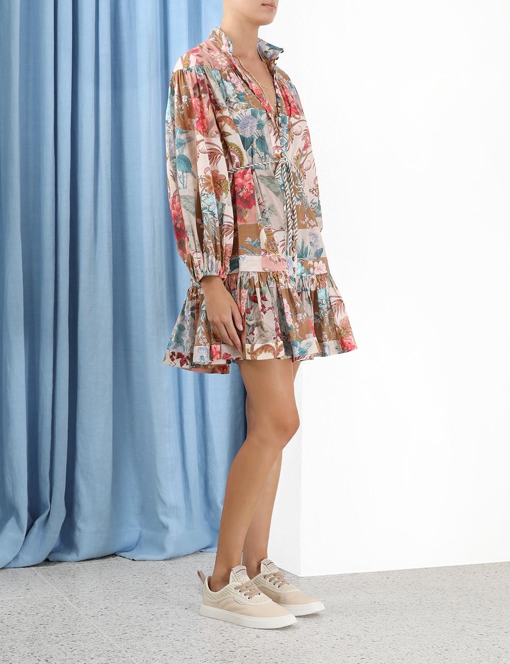 Cassia Drop Waist Mini Dress