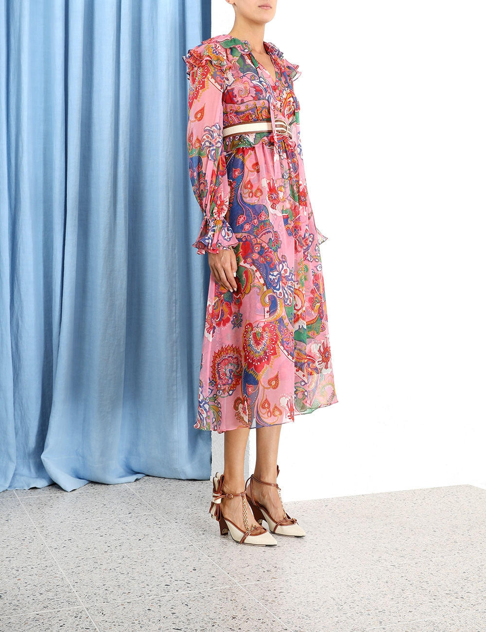 The Lovestruck Chiffon Midi