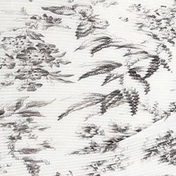 Bird Toile Print