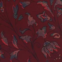 Burgundy Batik