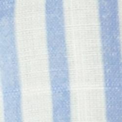 Cream/Blue Stripe