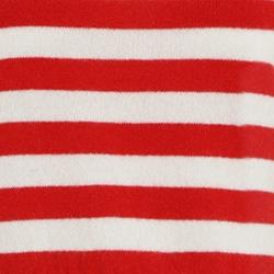 Crimson/Pearl Stripe