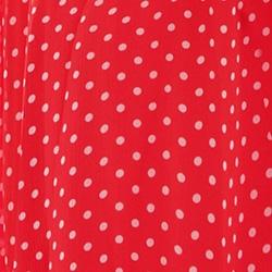 Crimson/Pearl Dot