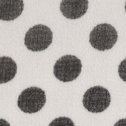 Cream/Black Spot