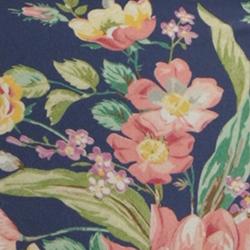 Cobalt Floral