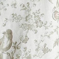 Olive Toile Print