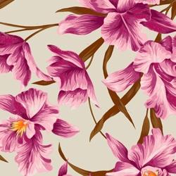 Sage/Fuchsia Orchid