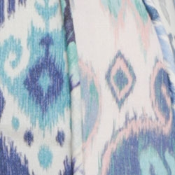 Spliced Blue Ikat