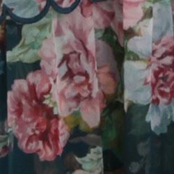 Teal Daphne Floral