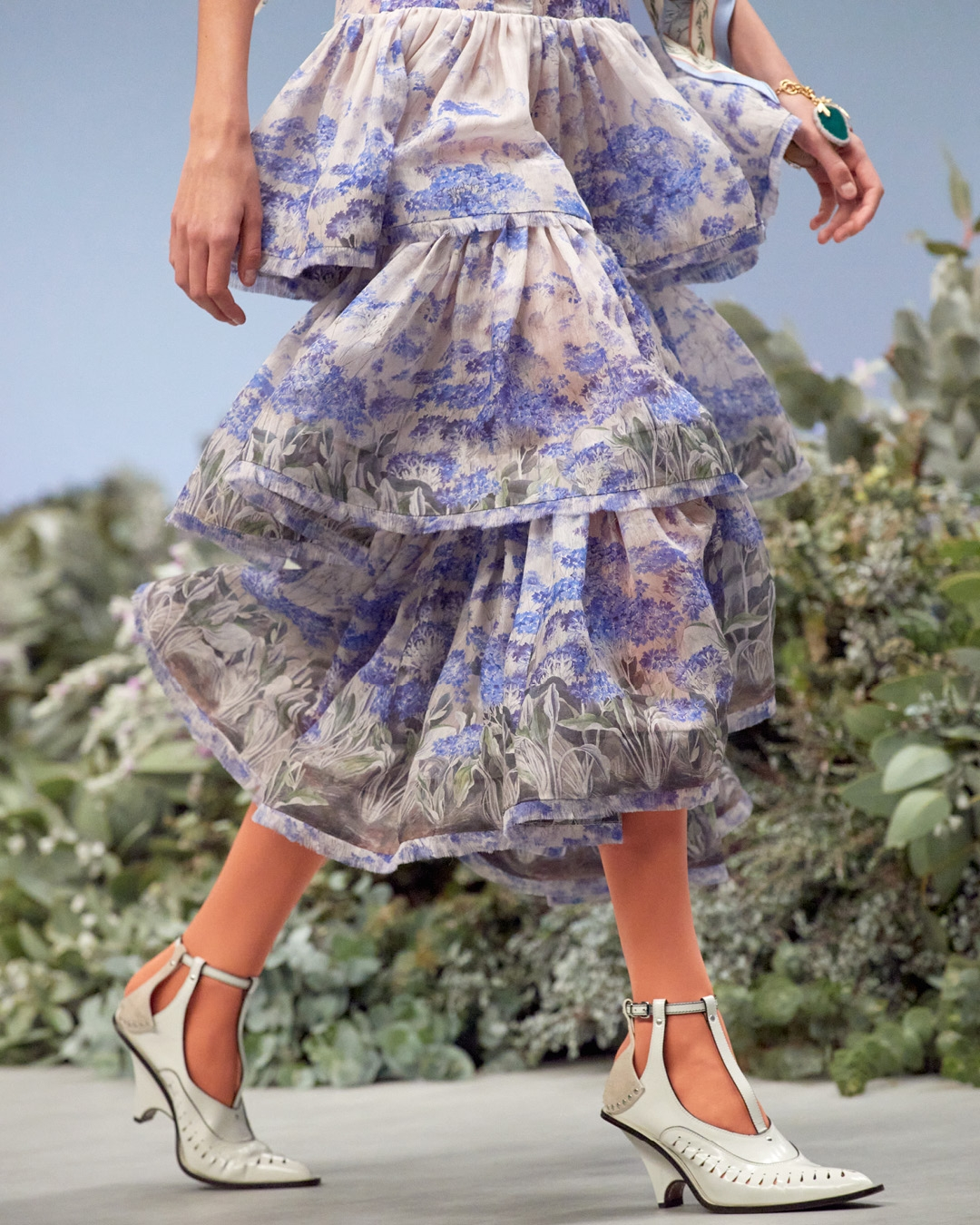 IN THE DETAIL: LOOK 15 SPRING READY TO WEAR 2021, WILD BOTANICA