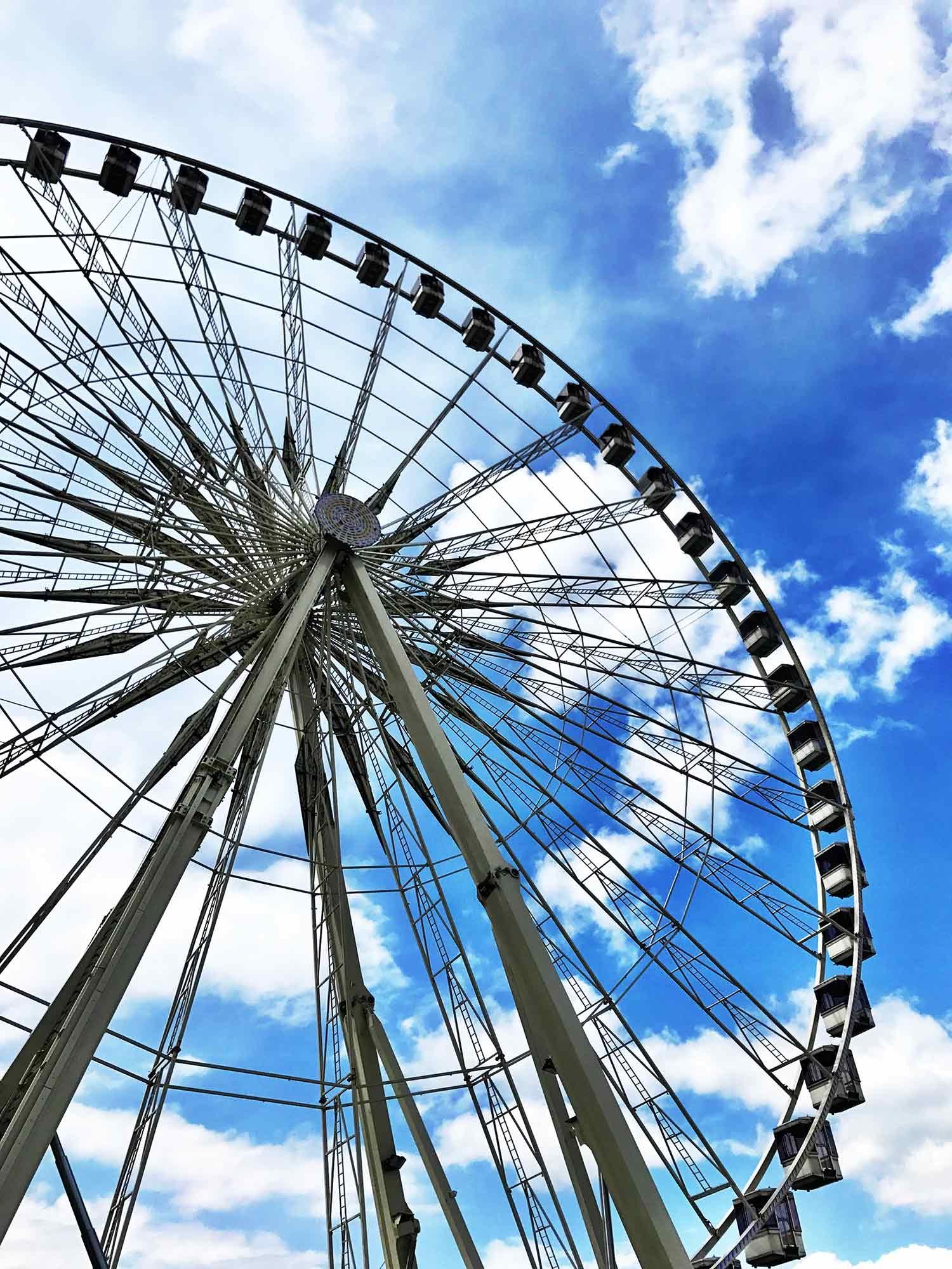The Big Wheel at Place de la Concorde. December 2018