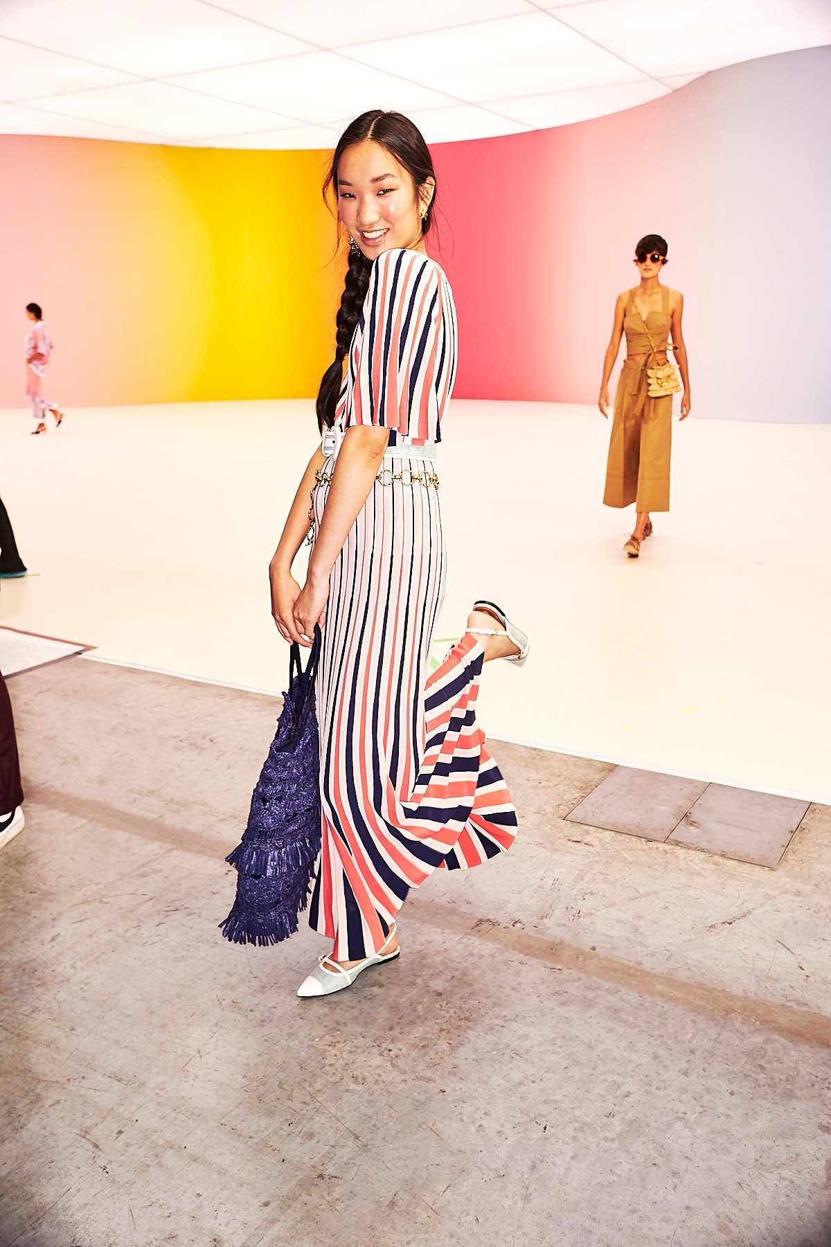BEHIND THE SHOW RESORT READY TO WEAR 2022, THE POSTCARD