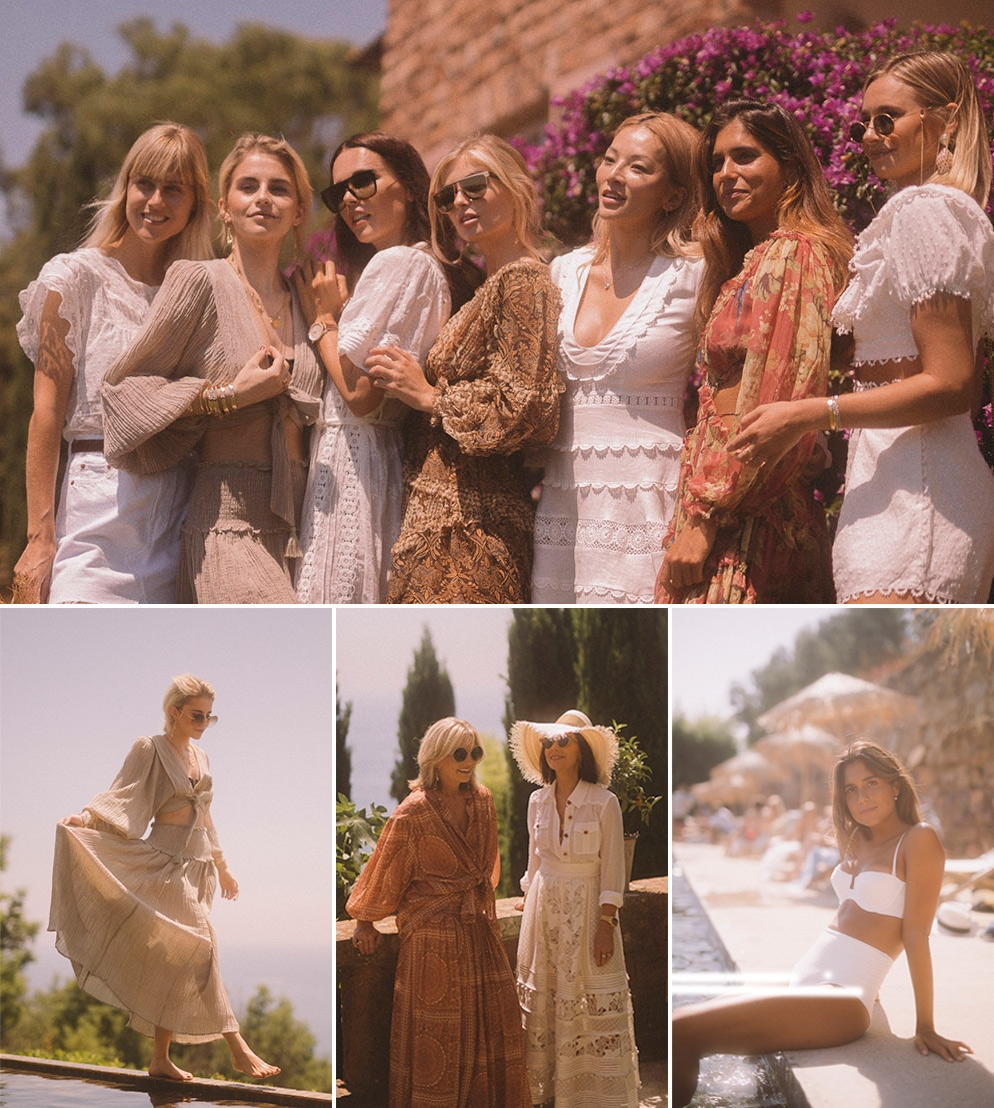 Nicky and Simone Zimmermann ang their guests at our Saint-Tropez event