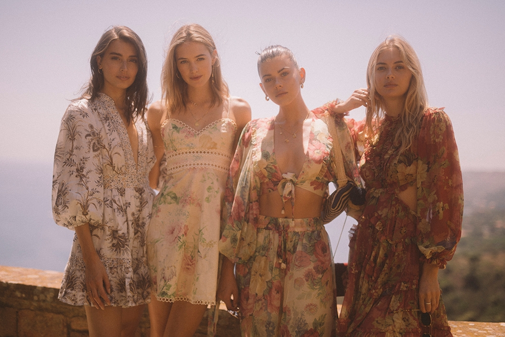 From left to right: Jessica Clements, Sanne Vloet, Georgia Fowler & Megan Williams