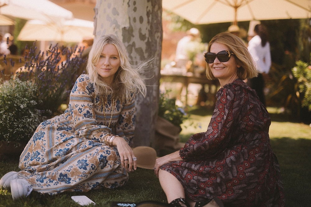 Laura Brown and Kellie Hush
