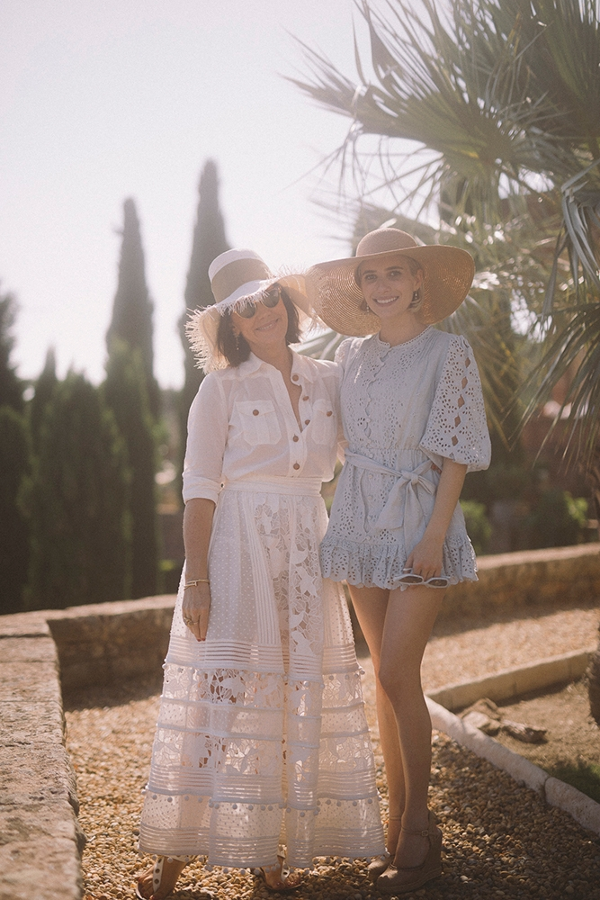 Nicky Zimmermann and Emma Roberts