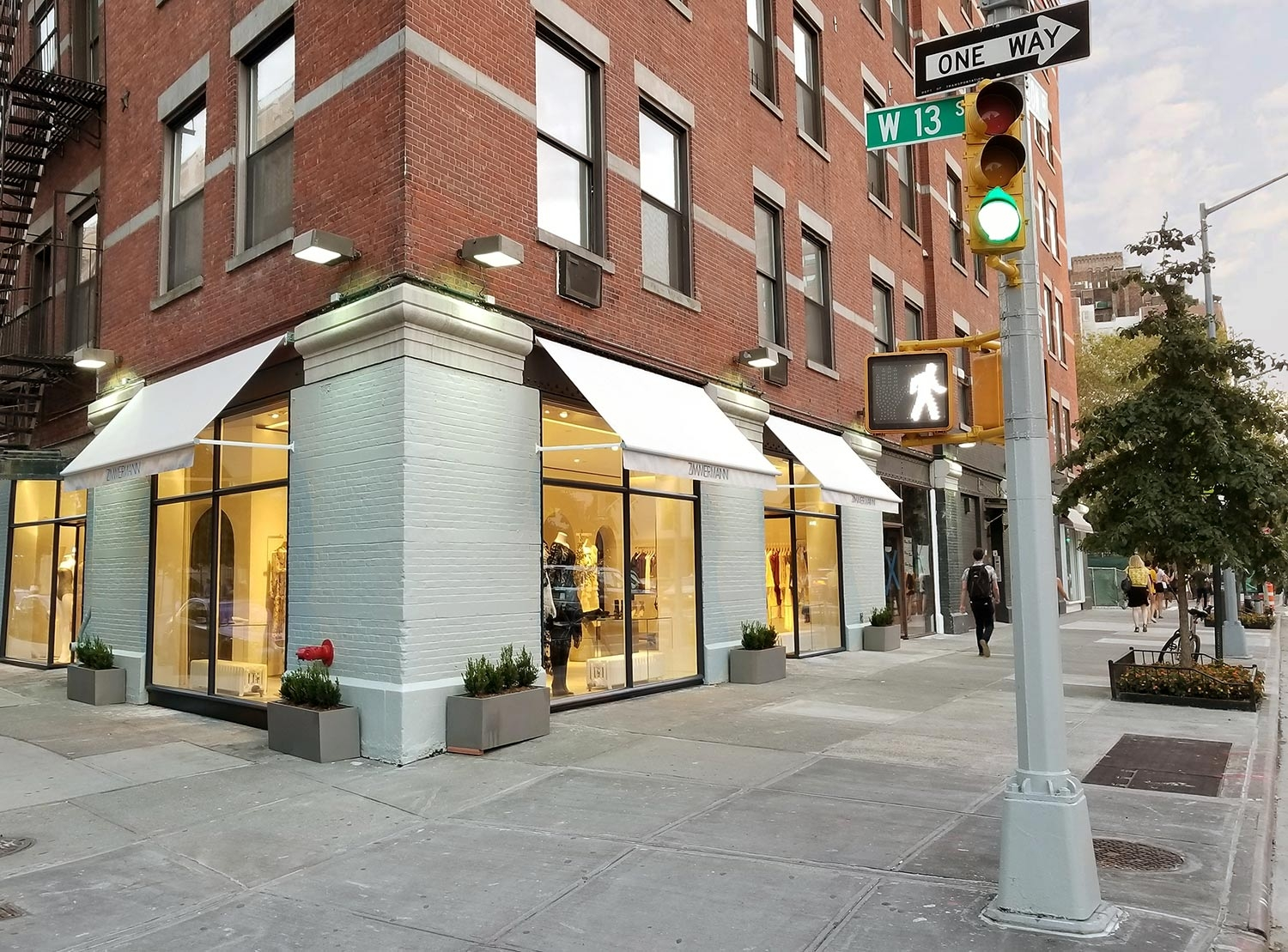 The exterior of our Meatpacking District Store