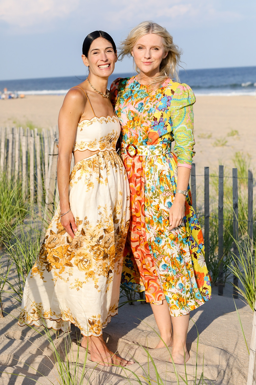 Athena Calderone and Naomi Watts at our Hamptons Summer Dinner