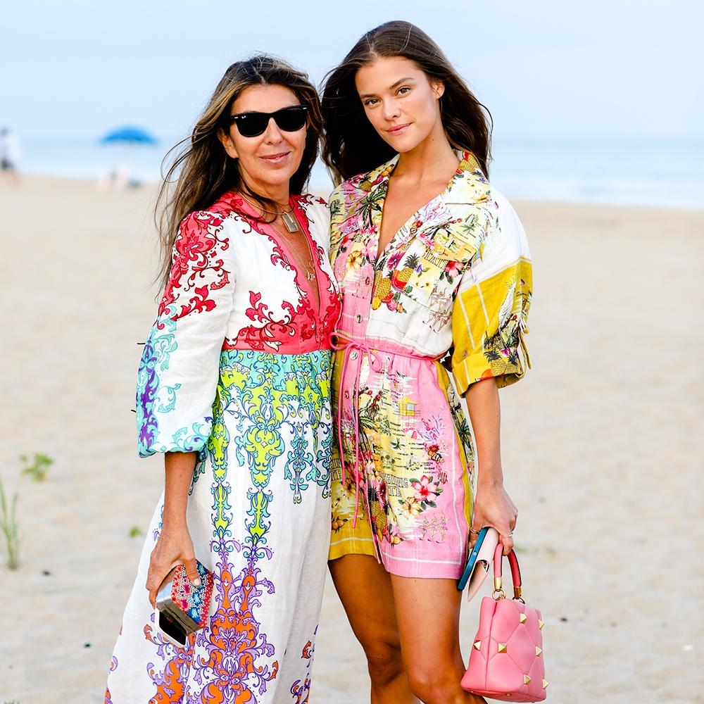 Nina Garcia and Nina Agdal