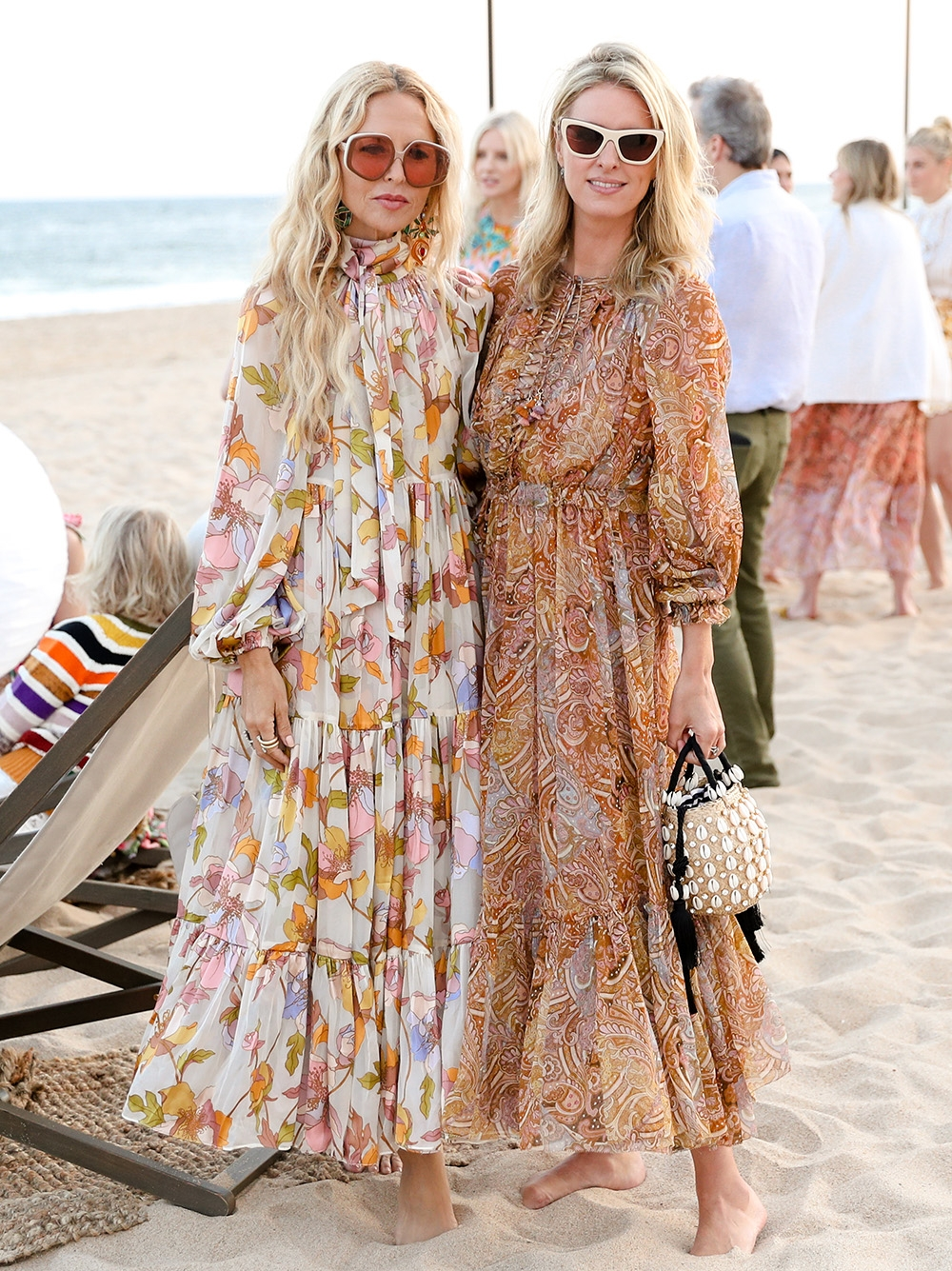 Rachel Zoe and Nicky Hilton at our Hamptons Summer Dinner