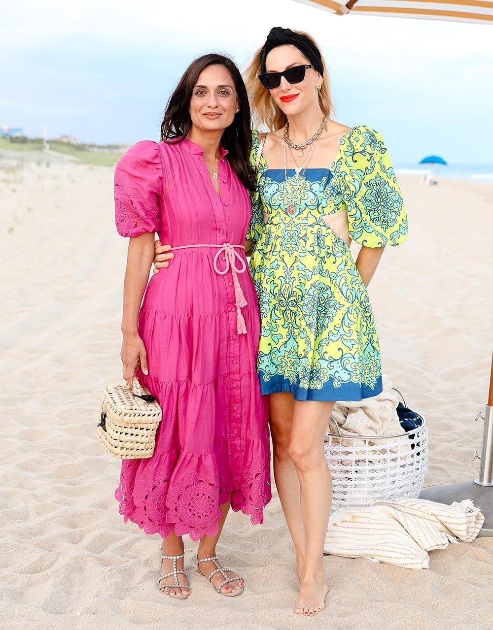 Roopal Petal and Joanna Hilman at our Hamptons Summer Dinner