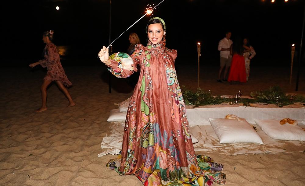 Noor Tagouri at our Hamptons Summer Dinner