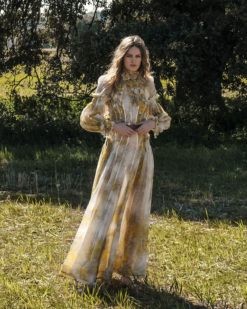 The Botanica Wattle Gown features in Elle Spain