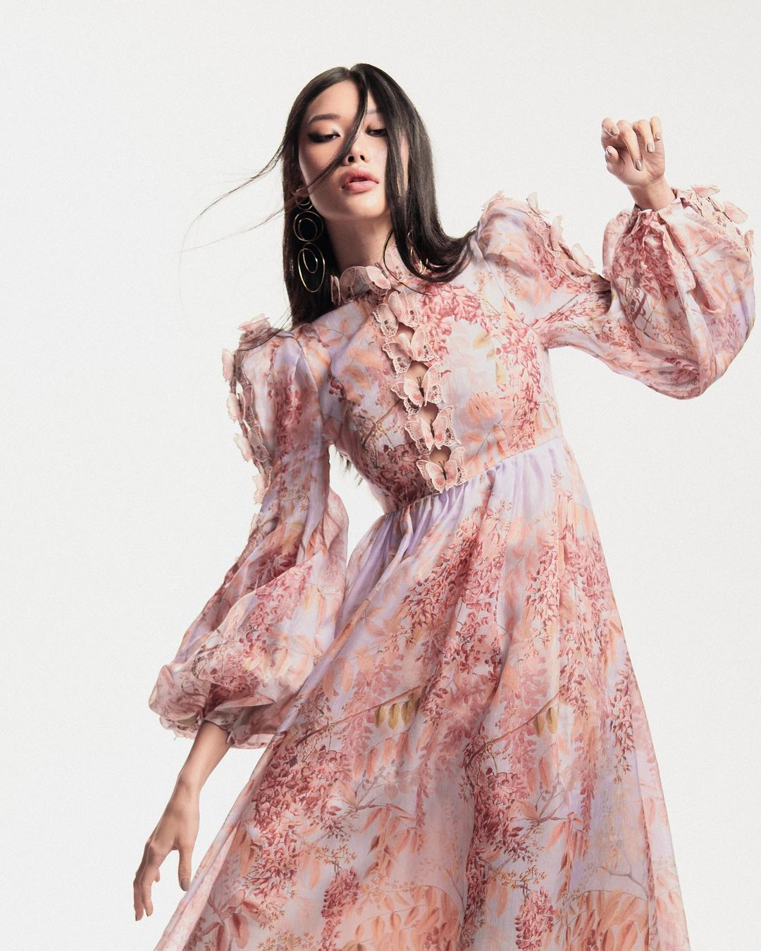 The Botanica Butterfly Gown features in Elle Vietnam