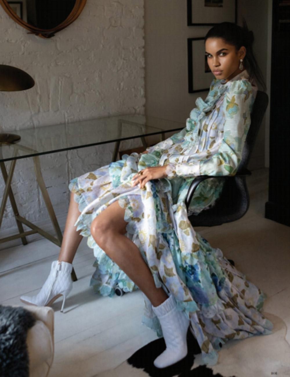 The Rhythm Scalloped Dress features in Harper's Bazaar Vietnam