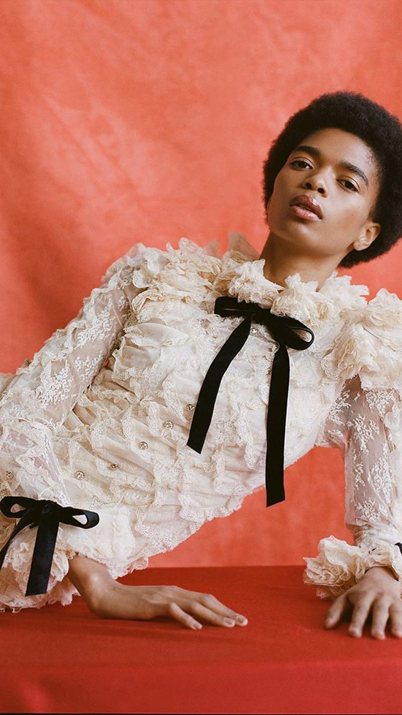 The Lucky Handkerchief Dress for Moda Operandi