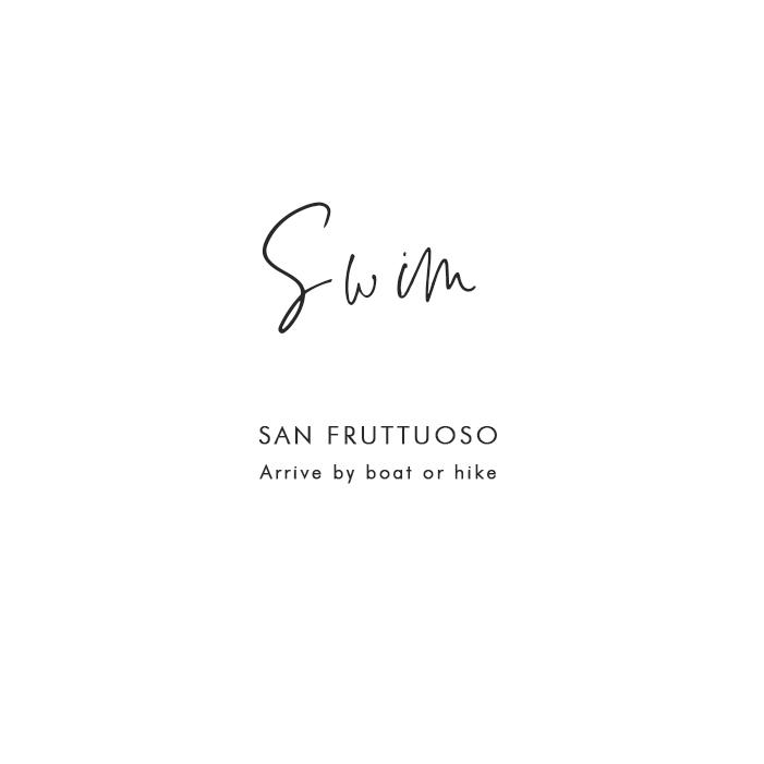 Where to Swim in Portofino: San Fruttuoso – Arrive by boat or hike