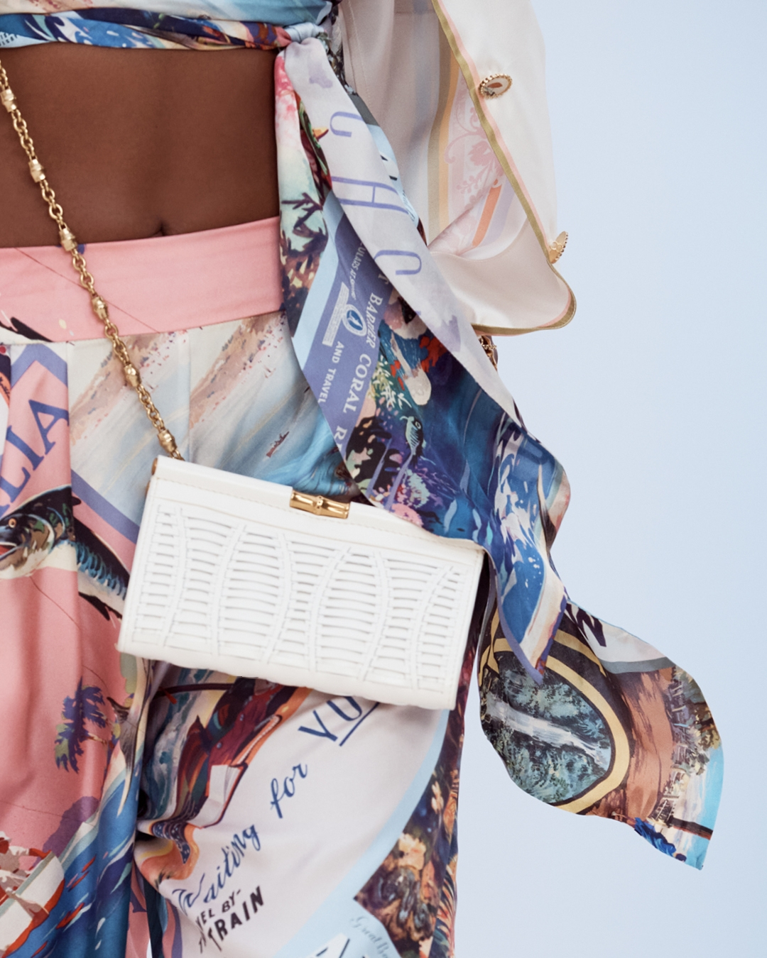 IN THE DETAIL: LOOK 4 RESORT READY TO WEAR 2022 THE POSTCARD