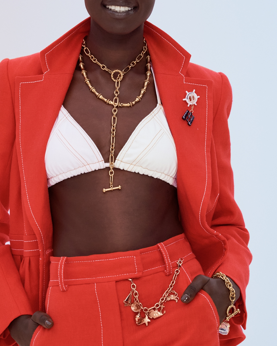 IN THE DETAIL: LOOK 6 RESORT READY TO WEAR 2022, THE POSTCARD