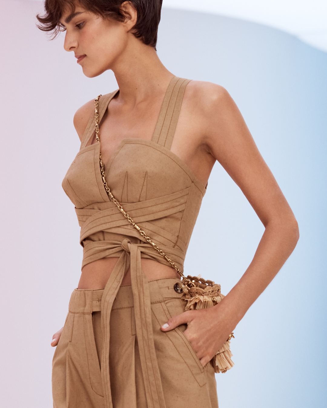 IN THE DETAIL: LOOK 11 RESORT READY TO WEAR 2022, THE POSTCARD