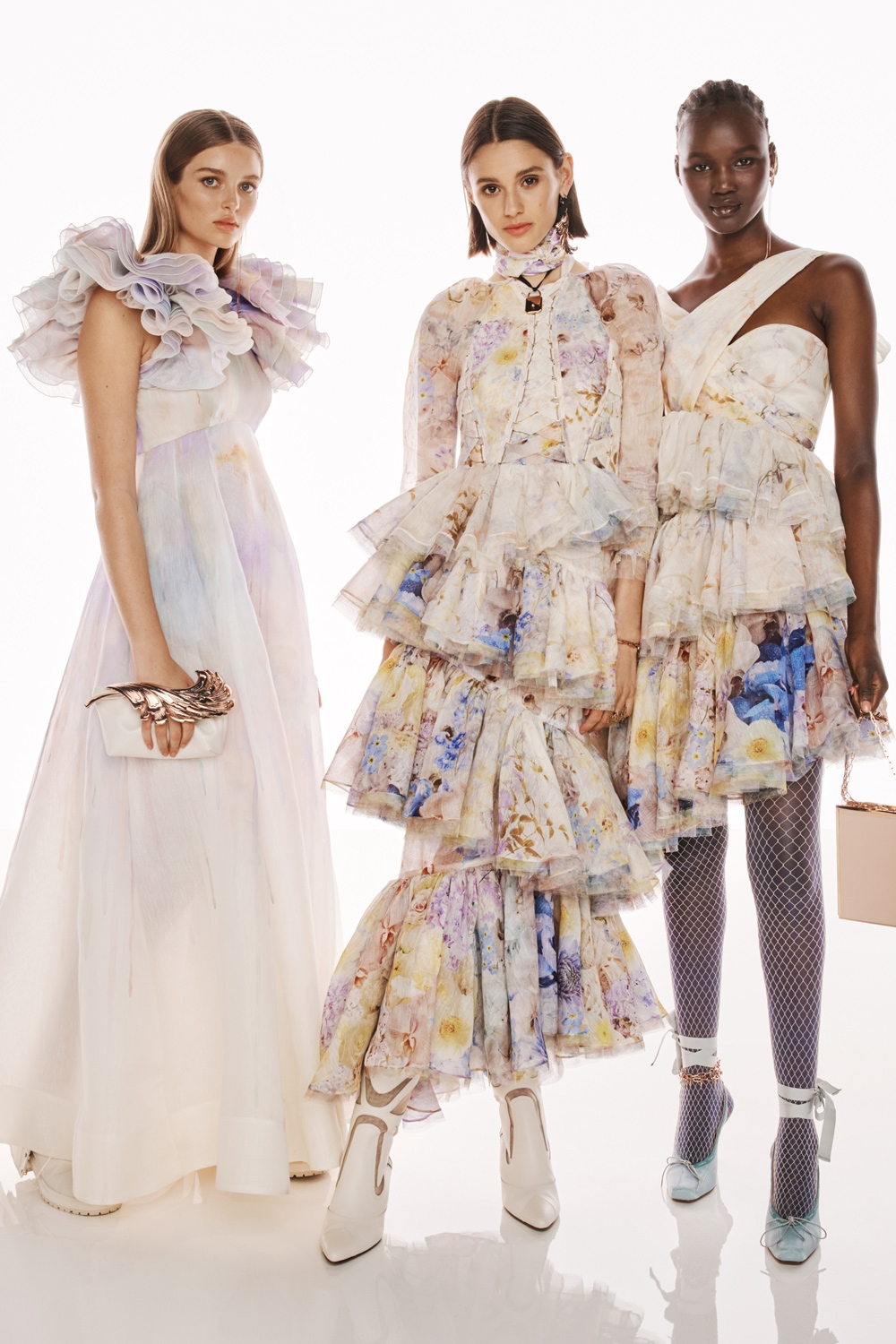 BEHIND THE SHOW SPRING READY TO WEAR 2022: Stella Hanan, Aleyna Fitzgerald and Abeny Nhial